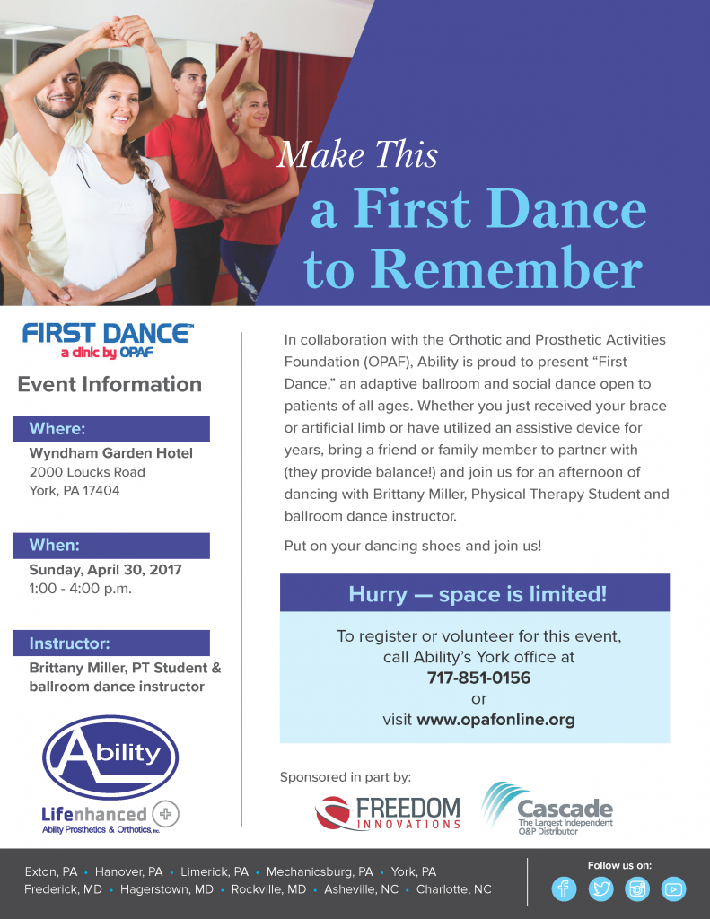 First Dance Clinic