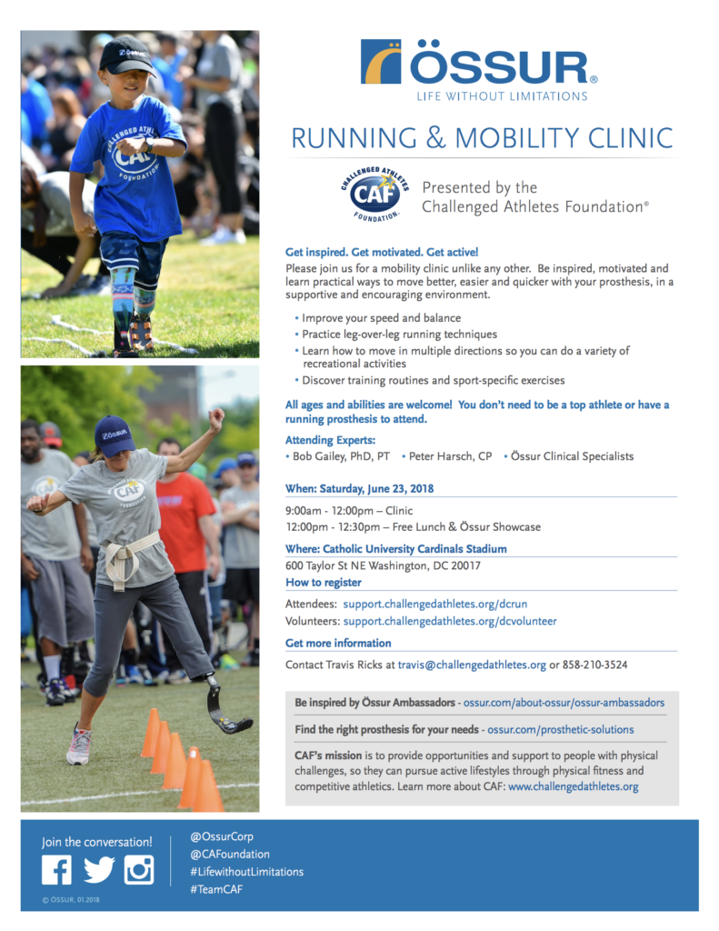 Ossur-Running-Mobility-Clinic-Flyer